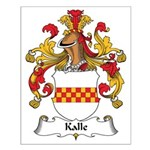 Kalle Family Crest Small Poster