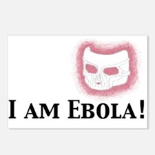 I am Ebola Postcards (Package of 8)