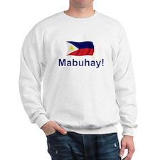 Filipino Mabuhay! Sweatshirt