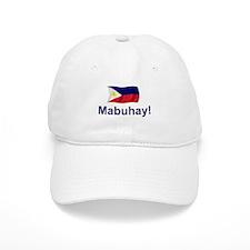 Filipino Mabuhay! Baseball Cap
