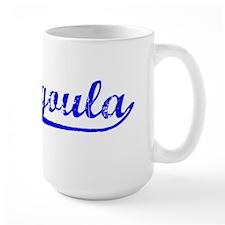 Vintage Pascagoula (Blue) Mug