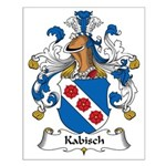 Kabisch Family Crest Small Poster