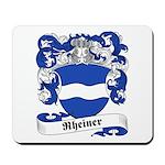 Rheiner Family Crest Mousepad