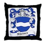 Rheiner Family Crest Throw Pillow