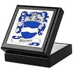 Rheiner Family Crest Keepsake Box