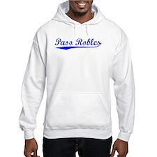 Vintage Paso Robles (Blue) Hoodie