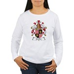 Juncker Family Crest Women's Long Sleeve T-Shirt