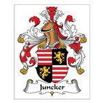 Juncker Family Crest Small Poster