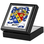 Rieder Family Crest Keepsake Box