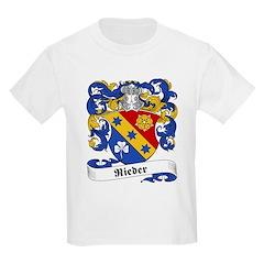 Rieder Family Crest Kids T-Shirt