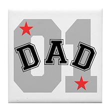 Dad 01 Tile Coaster