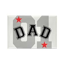 Dad 01 Rectangle Magnet (100 pack)