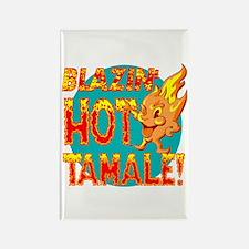 Blazin' Hot Tamale Product Mascot Rectangle Magnet