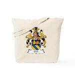 Jobst Family Crest Tote Bag