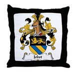 Jobst Family Crest Throw Pillow
