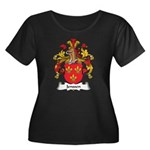 Jenssen Family Crest Women's Plus Size Scoop Neck