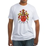 Jenssen Family Crest Fitted T-Shirt