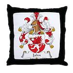 Jahn Family Crest Throw Pillow