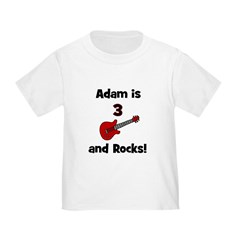Adam Is 3 And Rocks! T