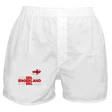 Engerland footy chant Boxer Shorts