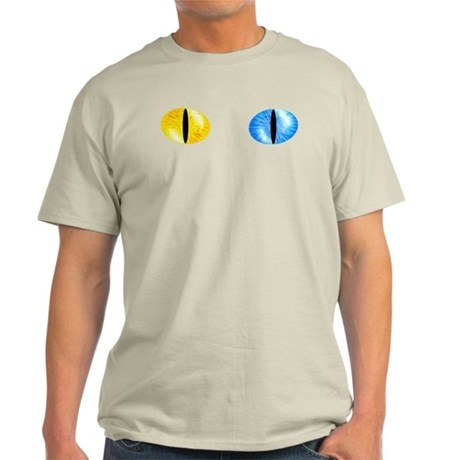 Odd Eyed Cat Eyes Light T-Shirt