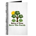 Save A Tree Save the Earth Journal