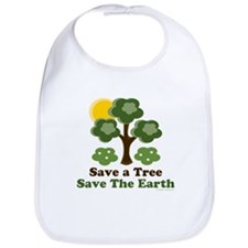 Save A Tree Save the Earth Bib