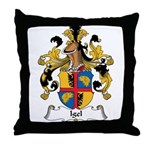 Igel Family Crest Throw Pillow