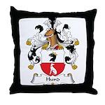 Hund Family Crest Throw Pillow