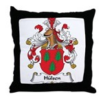 Hulsen Family Crest Throw Pillow