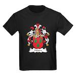 Hulsen Family Crest Kids Dark T-Shirt