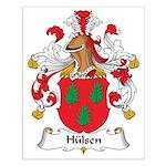 Hulsen Family Crest Small Poster