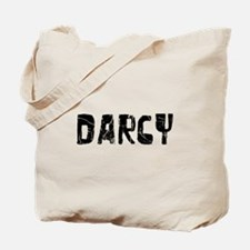 Darcy Faded (Black) Tote Bag