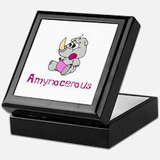 Amynocerous Keepsake Box
