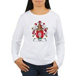 Hugo Family Crest Women's Long Sleeve T-Shirt