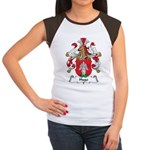 Hugo Family Crest Women's Cap Sleeve T-Shirt
