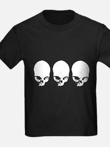 Triple Vector Skulls T
