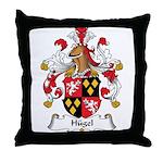 Hugel Family Crest Throw Pillow