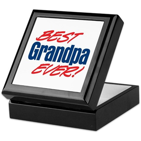 Best Grandpa Ever! Keepsake Box