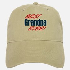 Best Grandpa Ever! Baseball Baseball Cap