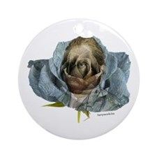 Van Gogh Rose Ornament (Round)