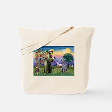 St Francis Deerhound Tote Bag