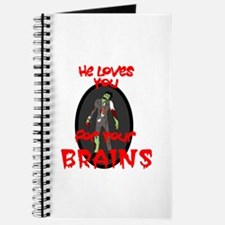 Loves You For Your Brains Journal