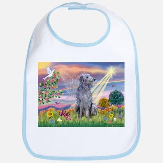Cloud Angel & Deerhound Bib