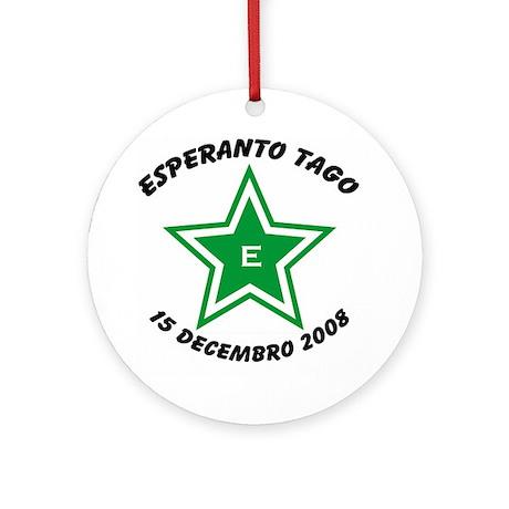 Esperanto Day 2008 Ornament (Round)