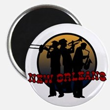Retro New Orleans Magnet