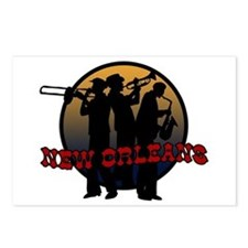 Retro New Orleans Postcards (Package of 8)