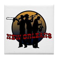 Retro New Orleans Tile Coaster