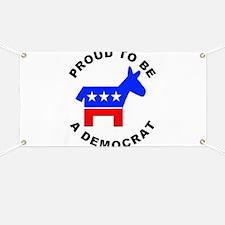 Proud Democrat Banner
