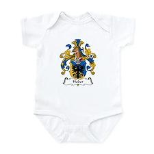 Huber Family Crest Infant Bodysuit